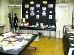教室での展示の写真